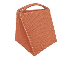 Cesto para la ropa en fibra de polipropileno – naranja