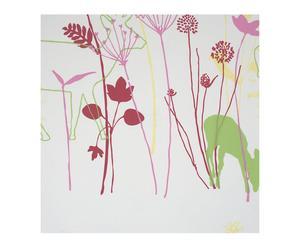 Papel pintado vinílico espumado floral I