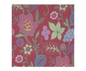 Papel pintado vinílico espumado floral VII