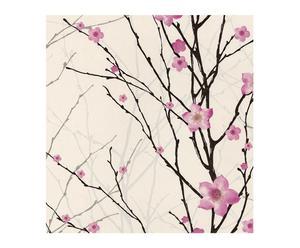 Papel pintado floral Spirit – 53x1000 cm