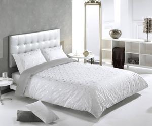 Funda nórdica Dreams, gris – cama de 150