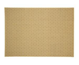 Alfombra de sisal y lana, blanco – 240x170