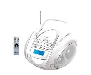 Radio Casette Nevir – blanco