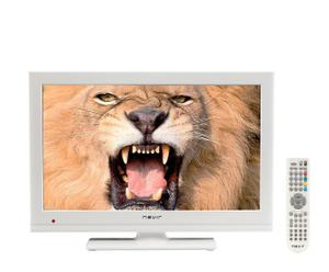"Televisor con pantalla LED 19"" – blanco"