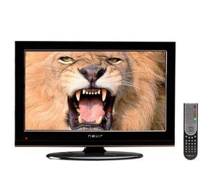 "Televisor con pantalla LED 22"" y DVD – negro"
