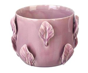 Maceta en cerámica, lila – grande