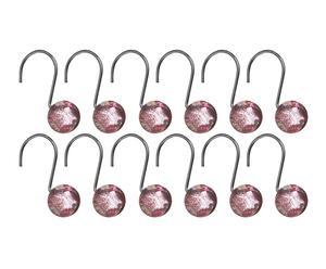 Colgadores para Cortina de ducha - rosa