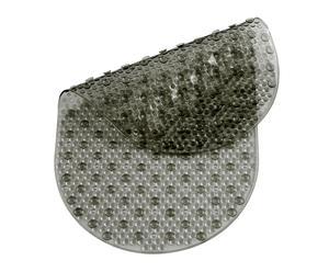 Alfombra de ducha en pvc - gris