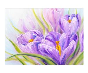 Lienzo Crocuses Oil Painting