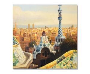 Lienzo Barcelona Painting