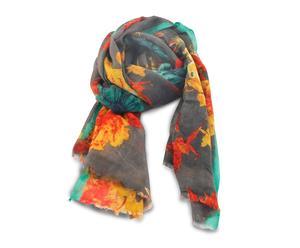 Bufanda de lana hecha a mano – multicolor II