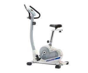 Bicicleta estática magnética - blanco