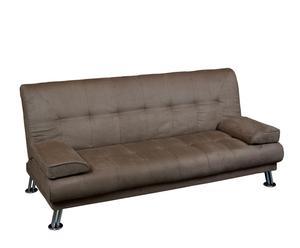 Sofá cama en Antelina – marrón