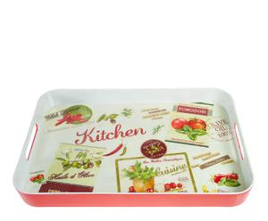 Bandeja de melamina cuadrada Kitchen