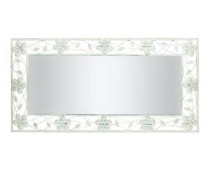 Espejo de Metal - blanco