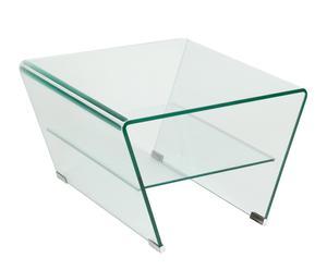 Mesa de centro de vidrio I – transparente