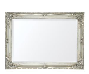 Espejo rectangular de resina I – plateado