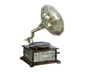 Gramófono en latón