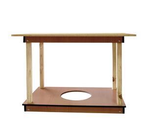 Mesa camilla rectangular – natural