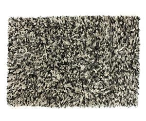 Alfombra Fantasy, negro plata – 60x120