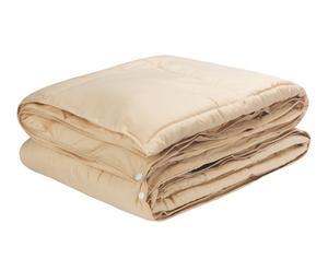 Edredón Nórdico Combicolor, beige – cama de 105 cm