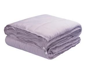 Edredón Nórdico Combicolor, gris – cama de 135 cm