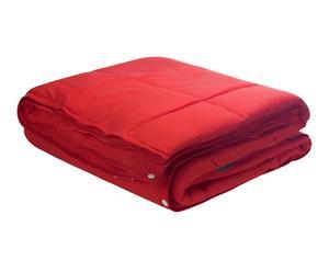 Edredón Nórdico Combicolor, rojo – cama de 150 cm