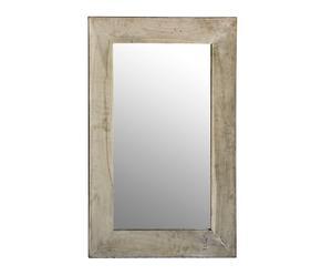 Espejo rectangular en madera de Suar