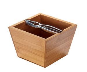 Cascanueces en caja de bambú