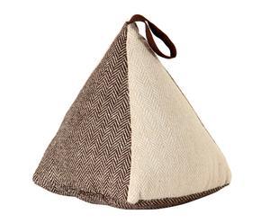 Tope de puerta Triángulo – marrón