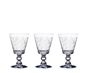 Set de 3 copas de vino en vidrio – transparente