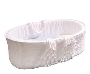 Capazo Cuco en algodón - Blanco