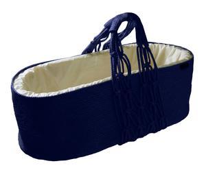 Capazo Cuco en algodón - Azul Oscuro