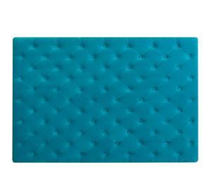 Cabecero con capitoné – azul