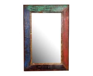 Espejo de madera de teca – multicolor