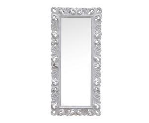 Espejo de pared, rectangular - gris decapado