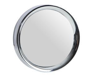 Espejo de pared con marco cromado - plata