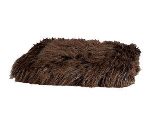 Manta de pelo acrílico – marrón