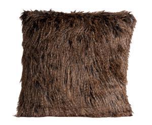 Cojín de pelo acrílico – marrón