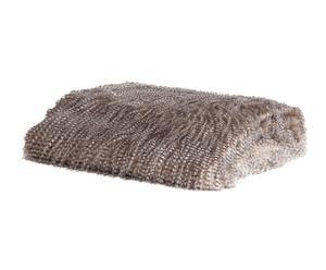 Manta de pelo acrílico – gris