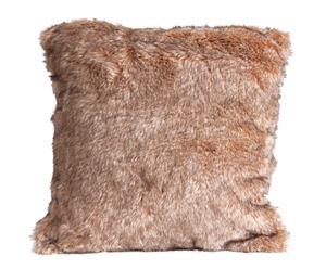 Cojín de pelo acrílico – marrón claro