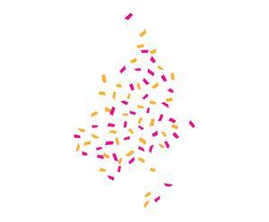 Vinilo decorativo Confetti I
