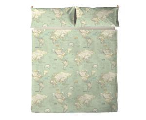 Juego de sábanas Atlás para cama de 90 cm - 2 piezas