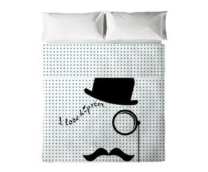 Juego de sábanas Gentleman para cama de 150 y 160 cm - 3 piezas