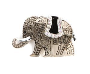 Broche Elefant- gris