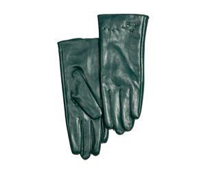 Set de 2 guantes de hombre en polipiel, verde – talla L
