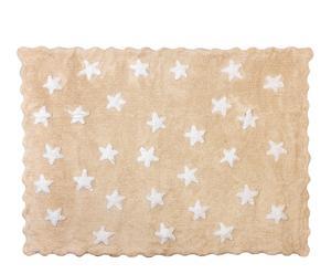 Alfombra de algodón Edén, beige – 120x160 cm