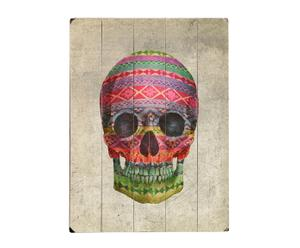 Cuadro Navajo Skull - 30,5x40,6cm