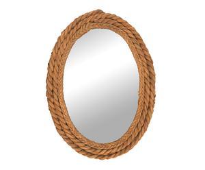 Espejo de anea – ovalado
