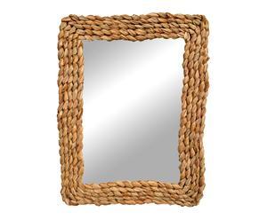 Espejo de enea – 46x60 cm